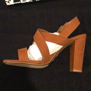 BAMBOO Shoes - Rampage Heel Sandals -NIB